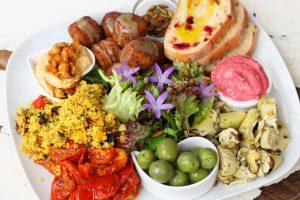 Mediterranean Mezze Bowl