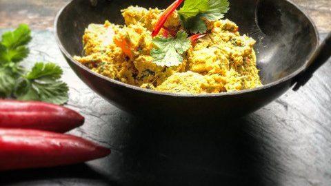 Butternut Squash and Tofu Rendang Curry