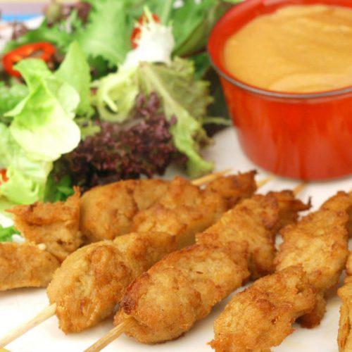 Mock Chicken Satay