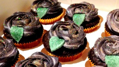 Mexican Halloween Hot Chocolate Cakes