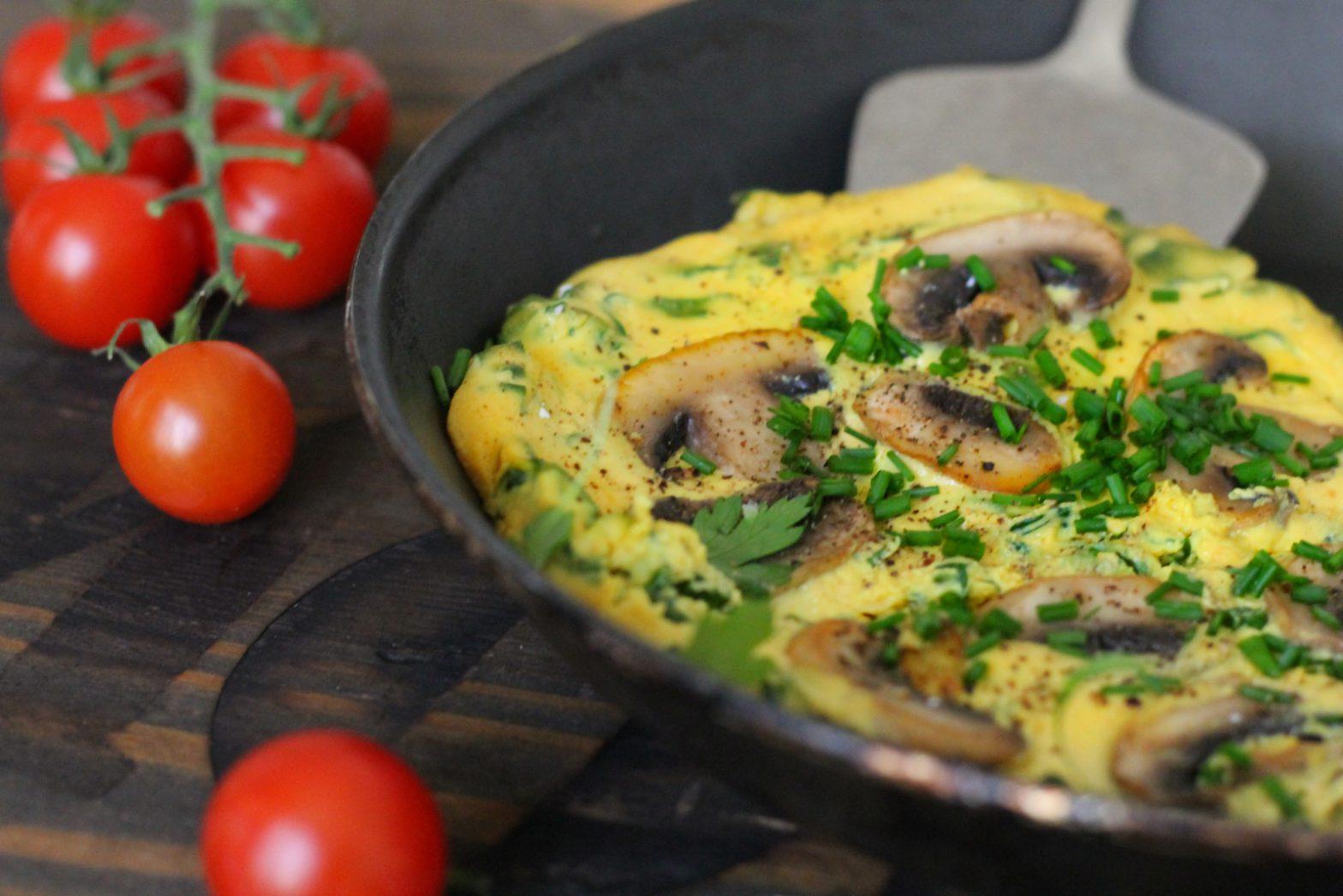 Vegan Omelette or Egg Butties