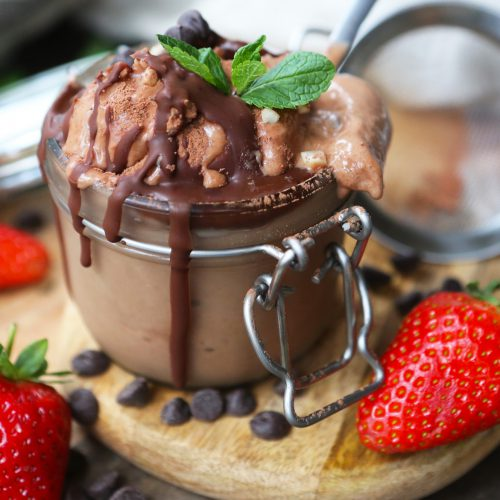 Chocolate & Banana Nice Cream