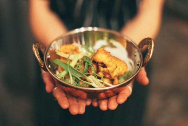 Vegan Cauliflower Pakora