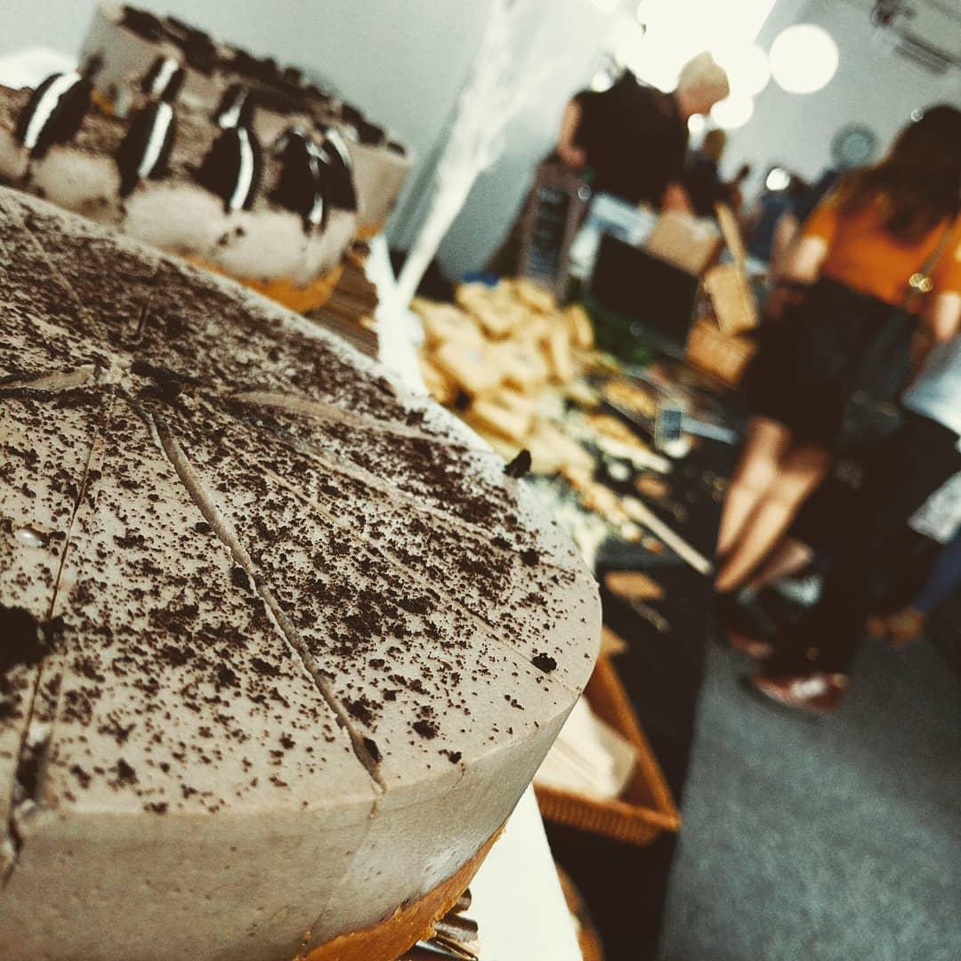 Raw 'Oreo' Cheesecake