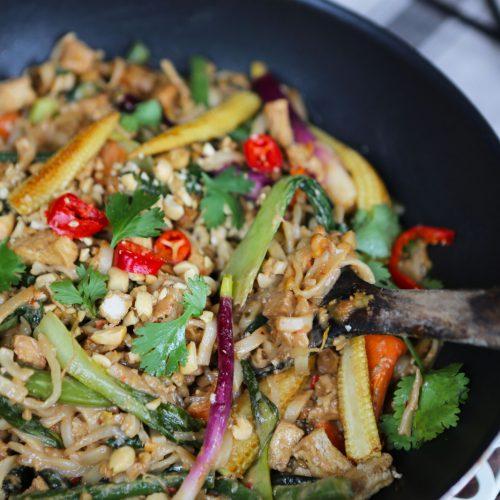 One Pot Pad Thai