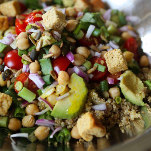 Quick Quinoa Salad