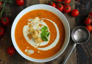 Simple Roast Tomato Soup