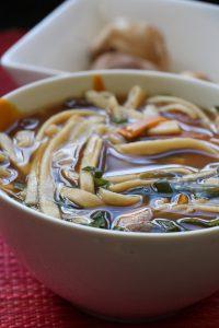 5:2 Fast Day Big Noodle Soup