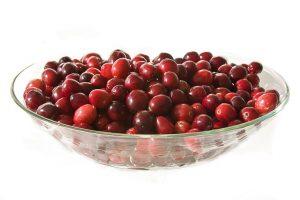 Cranberry & Raspberry Ice Cream Layer
