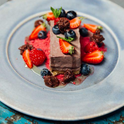 Açai Berry Cheesecake