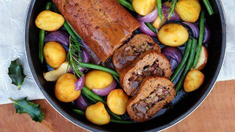 Chava Eichner's Stuffed Seitan Roast