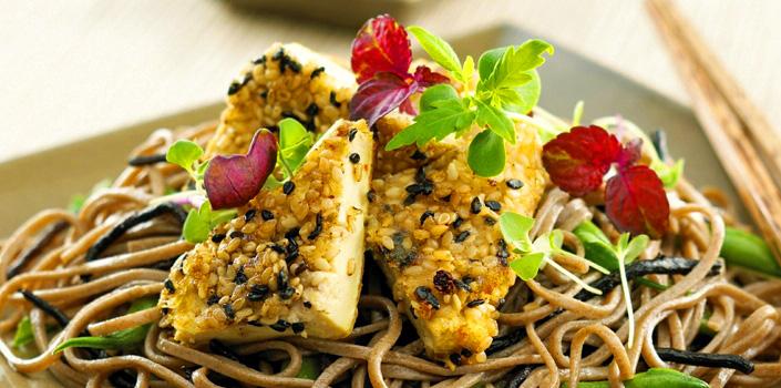 Black Sesame Tofu