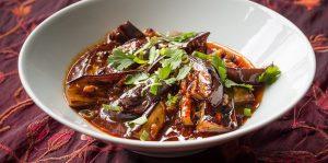 Vegan Fragrant Spicy Aubergines