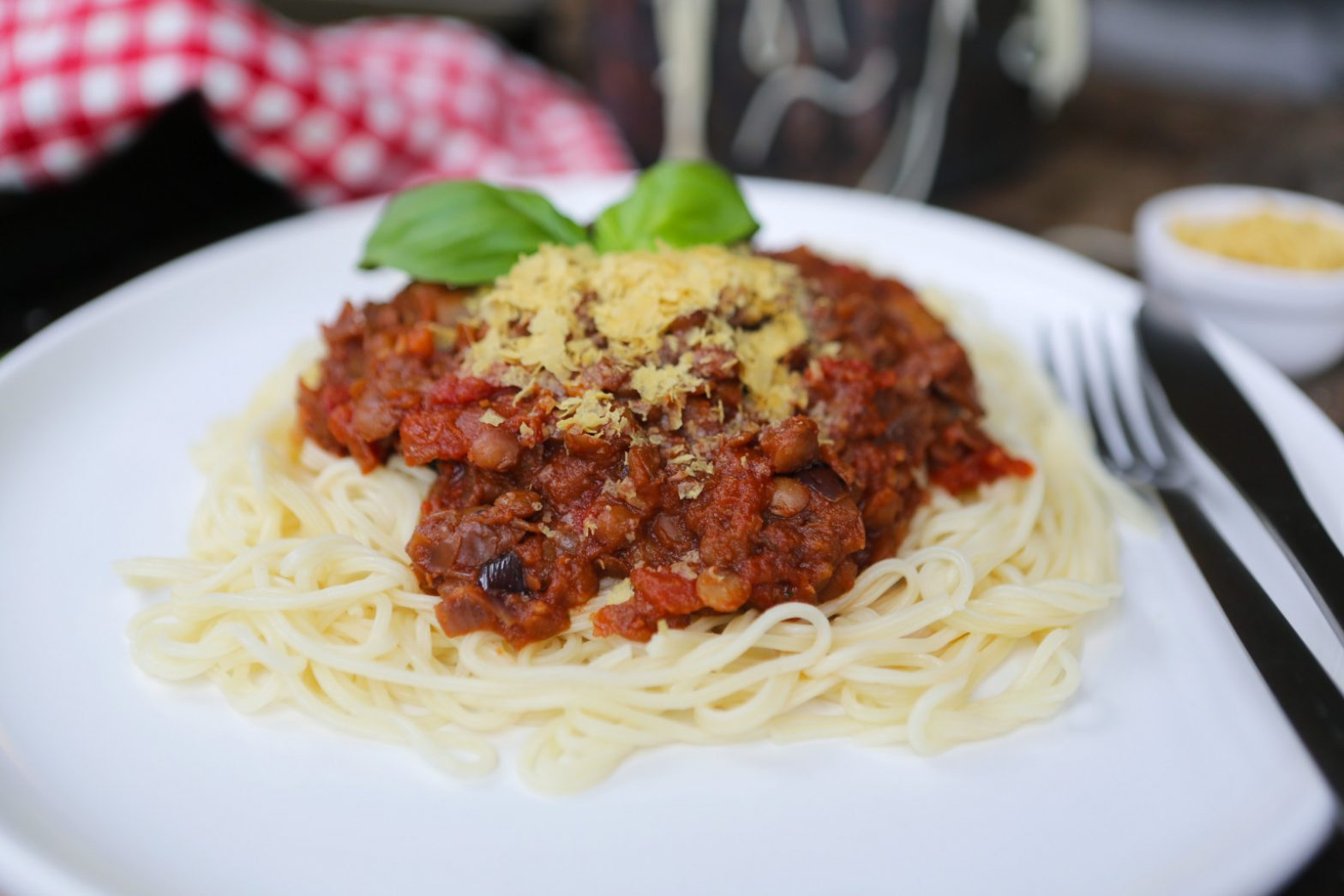 Tin Can Spaghetti Bolognese