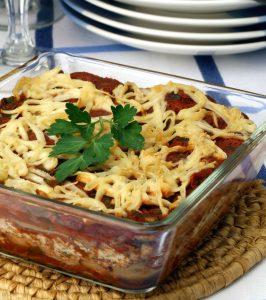 Spinach & Walnut Lasagne