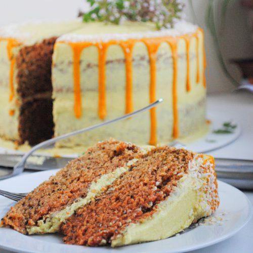 Turmeric Chai Cake