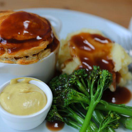 Vegan 'Steak' & Ale Pie