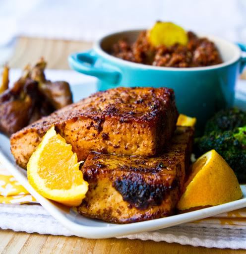 Sumac & Ginger-Garlic Pan-fried Tofu