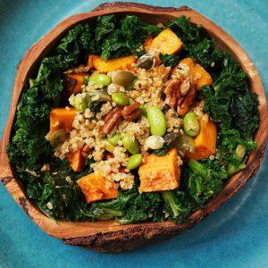 Superfood Salad with Kale & Sweet Potato