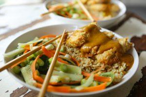 Cheatin' Tofu Katsu Curry