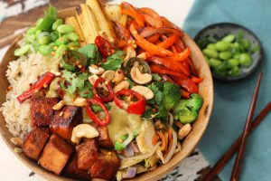 Ash's Rice and Veg Stir-fry
