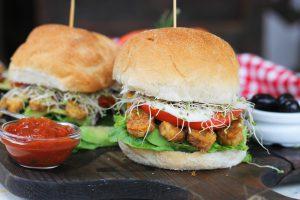 Vegan Rasher Sandwich