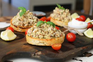 Creamy Almond Mock Tuna Salad