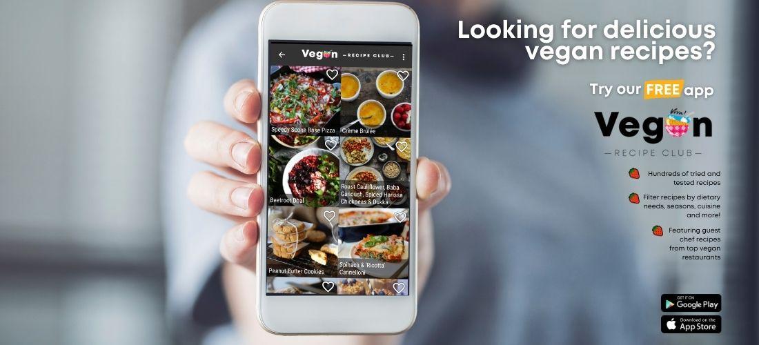Vegan Recipe Club App