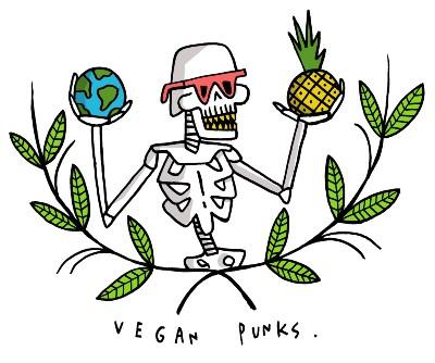 vegan punks logo